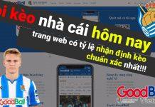 Trang web cung cấp thông tin về bóng đá như tỷ số trực tuyến, dữ liệu bóng đá, kèo nhà cái, nhận định kèo chính xác đang được ưa chuộng hiện nay là trang GoodBall.com.